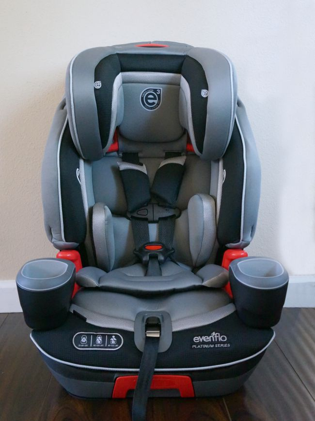 Evenflo Advanced Transitions 3-in-1 Booster Car Seat