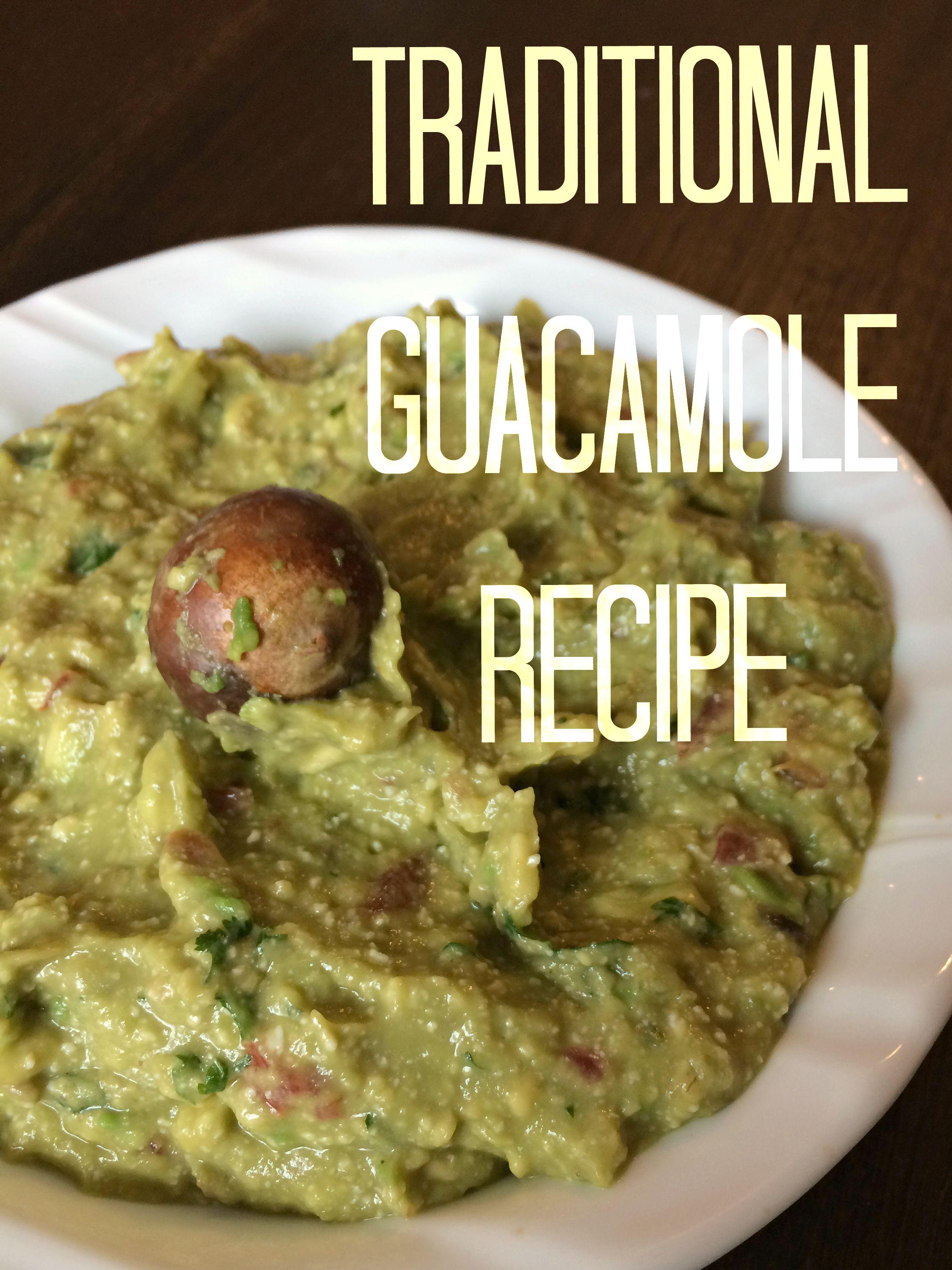 authentic traditional guacamole recipe