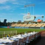 Montejo dinner at Dodger Stadium