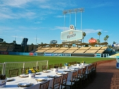 Montejo dinner at Dodger Stadium