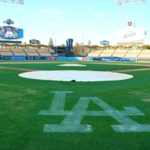 Dodger Stadium view from home plate