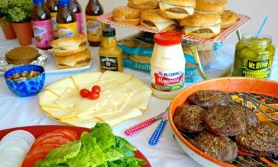 easy burger bar you can make at home