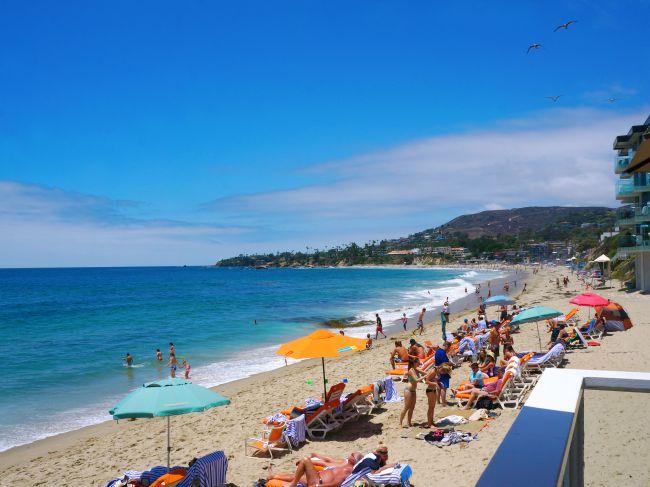 Laguna beach vacation spot