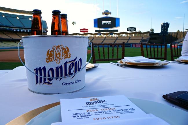 Montejo beer at Dodgers Stadium