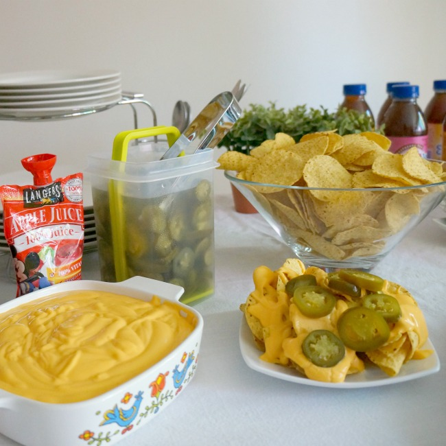 Nachos and nachos toppings at smart and final