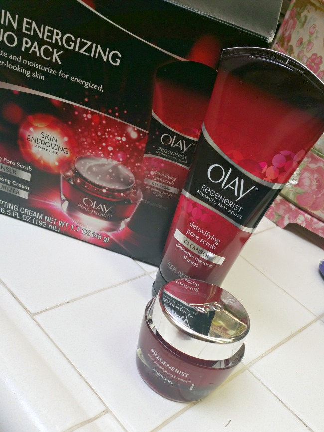 Great Olay Regenerist products