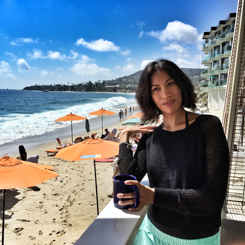 Pattie Cordova in Laguna Beach