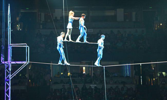 Ringling Bros Balancing Act