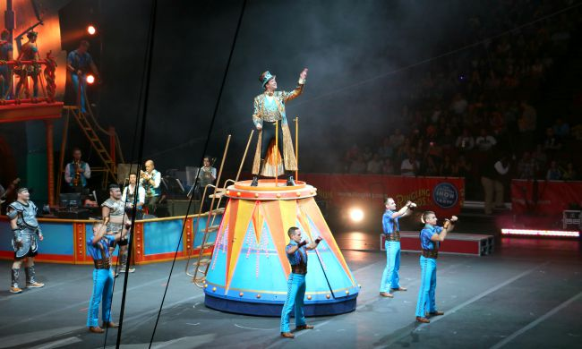 Ringling Bros and Barnum and Bailey Circus at honda center