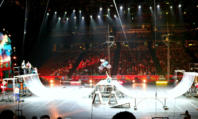 Ringling Bros at Honda Center