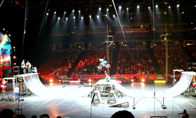 Ringling Bros at Honda Center