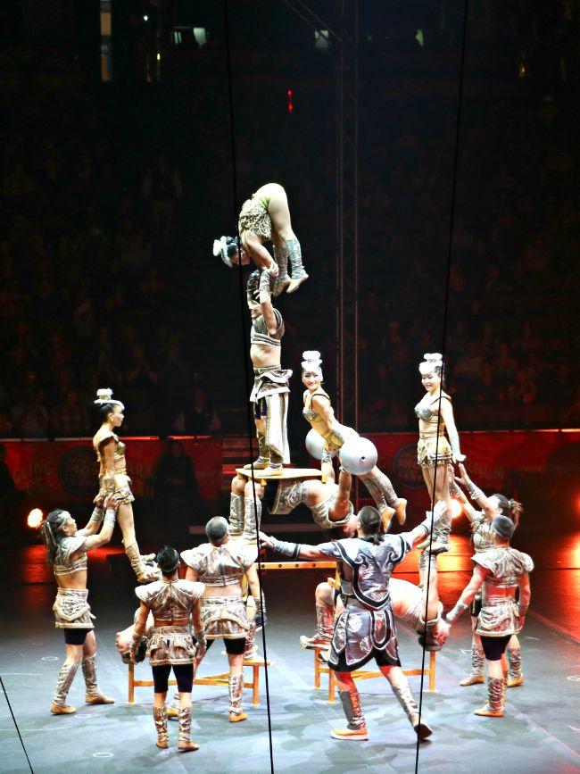 Performers at Nitro Circus