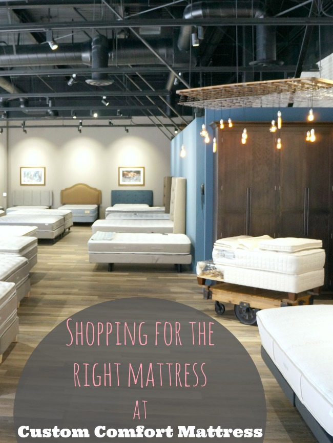 Tips for shopping for the right mattress at Custom Comfort Mattress