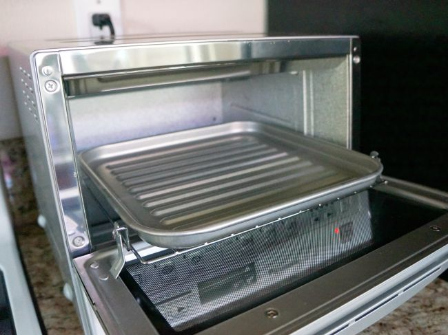 Panasonic FlashXpress Toaster Oven recipe
