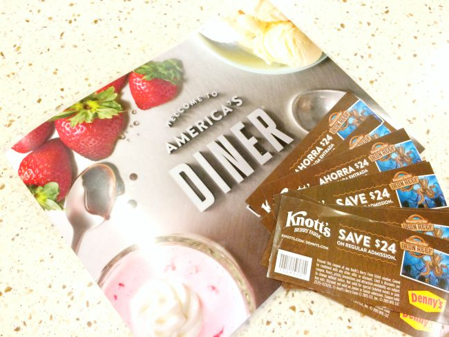 Knott's Berry Farm coupons at Denny's