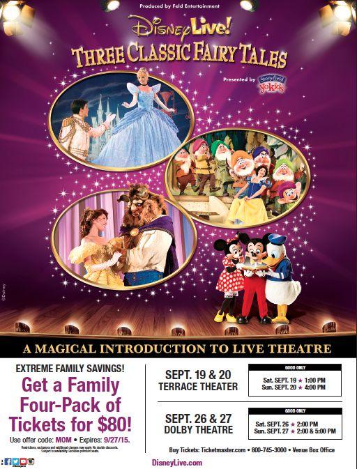 Disney Live! Coupon Code
