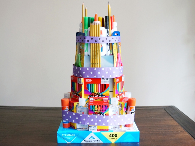 Easy-craft-supplies-cake