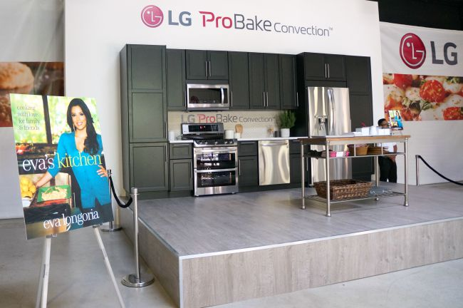 Eva Longoria at LG ProBake Event