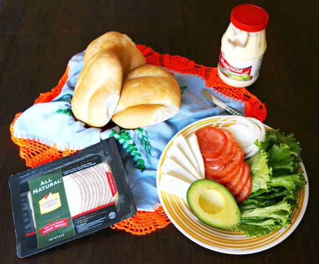 How to make mexican torta sandwiches