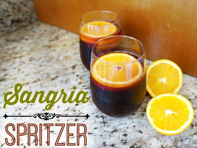 yellow tail Sangria spritzer recipe