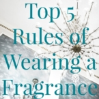 rules of wearing fragrance