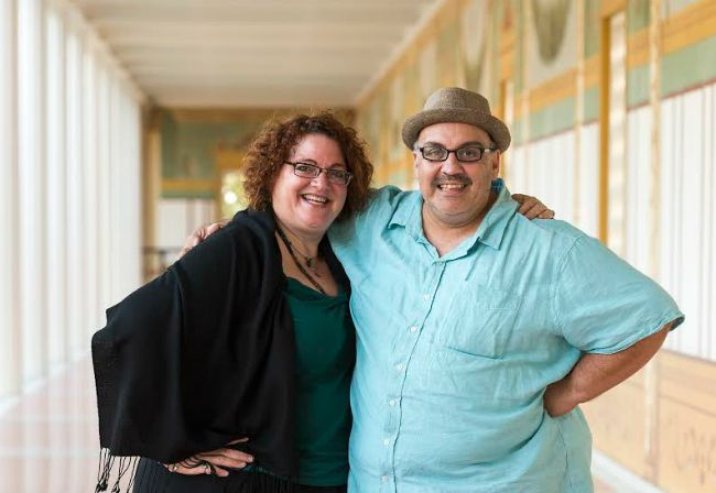 Jessica Kubzansky and Luis Alfaro