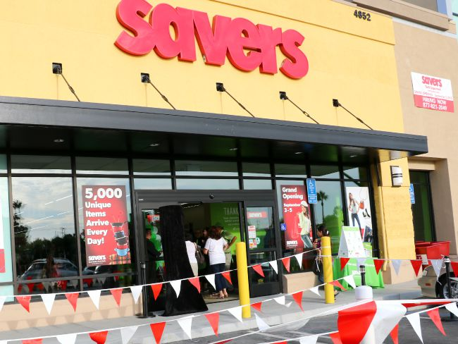 Savers Thrift Store in Yorba Linda