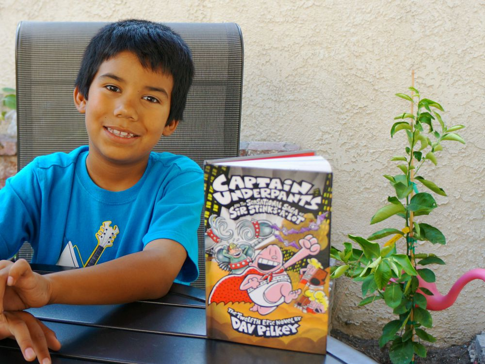 Captain Underpants and the Sensational Saga of Sir Stinks-A-Lot book review