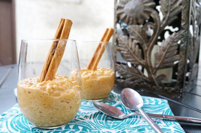 Dulce de Leche arroz con leche recipe