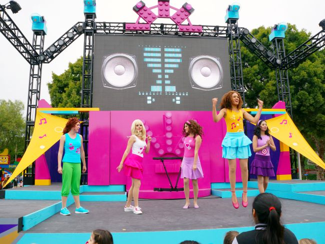 LEGO friends performers
