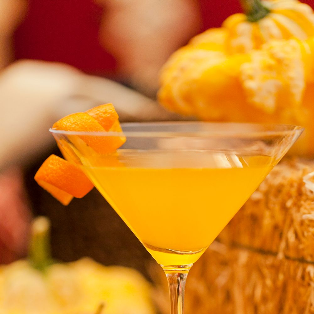 Orange Spiced Pumpkin Martini Recipe