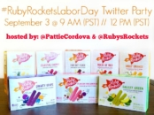 Ruby Rocket's Twitter Party invite