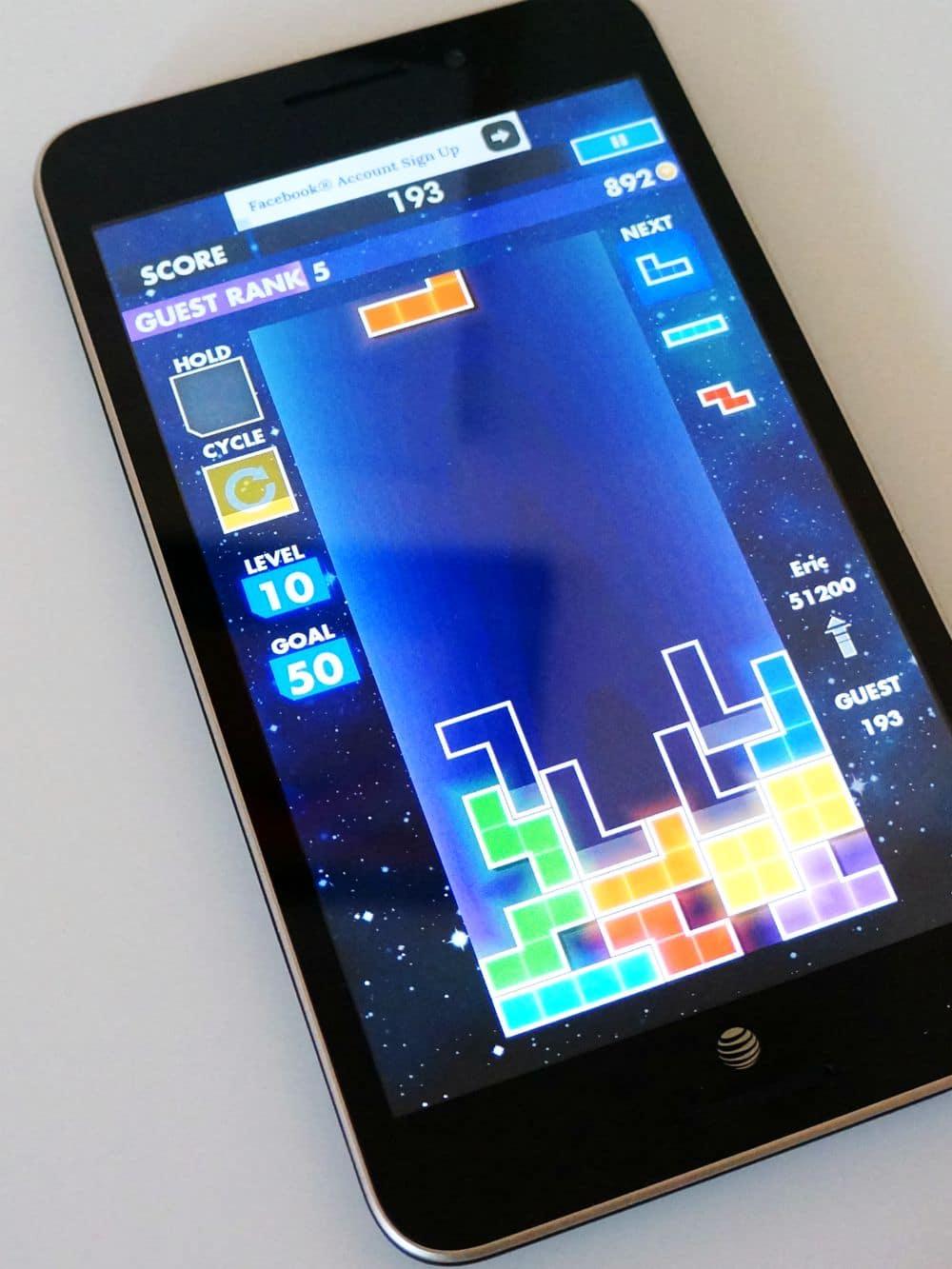 tetris on tablet
