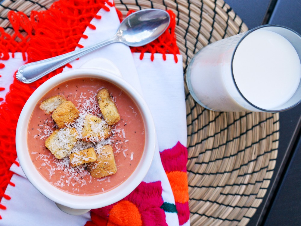 3 ingredients tomato soup