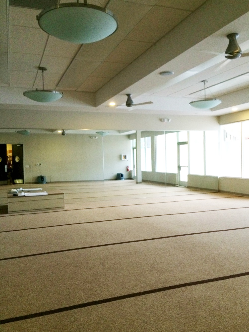 Bikram Yoga studio in Fullerton
