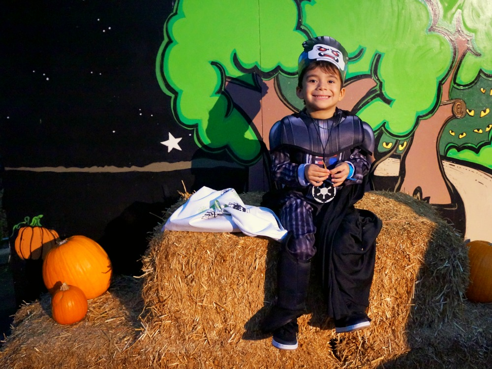 Brick or Treat photo opportunities