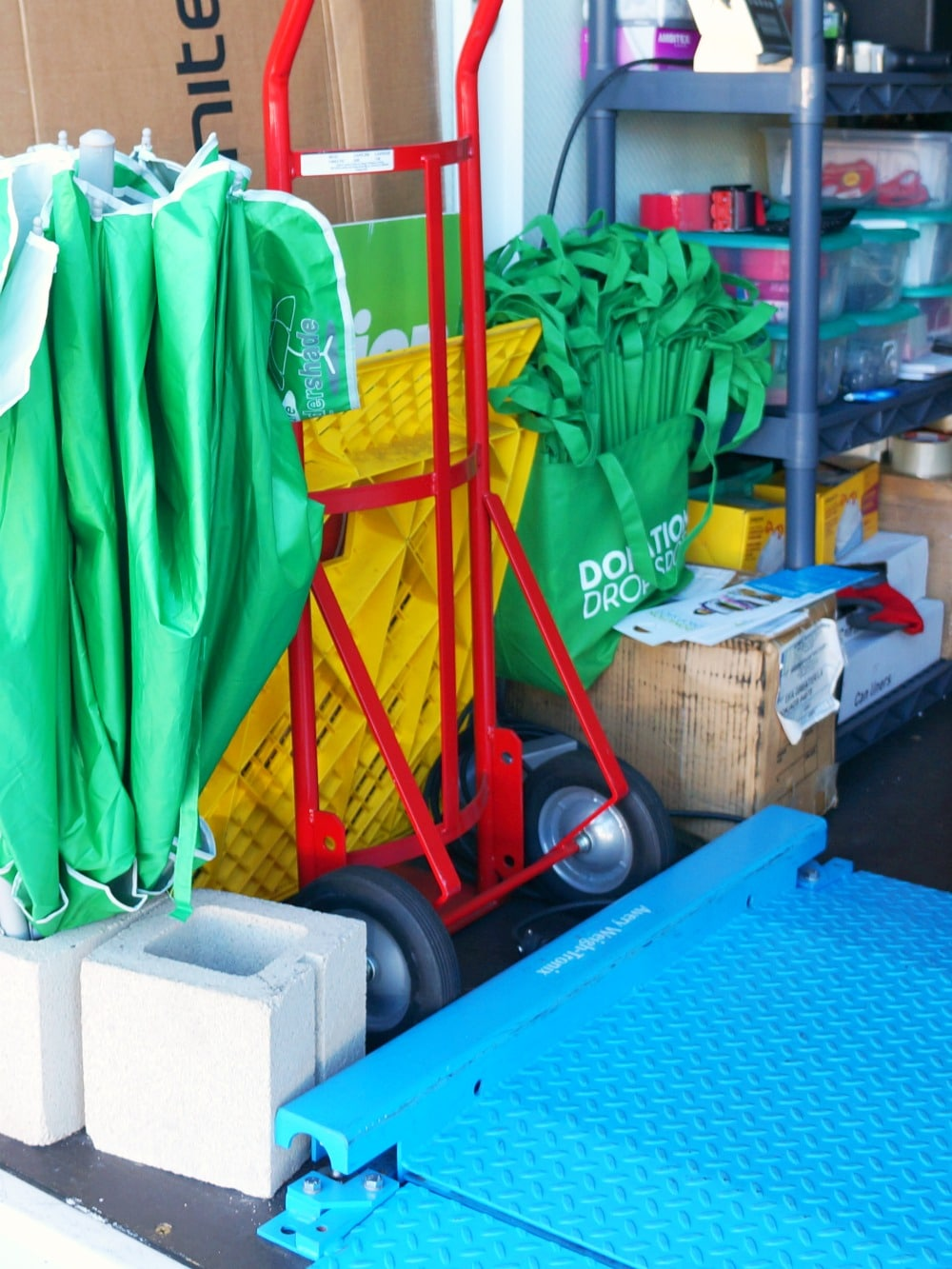 donation bags at Savers Donation Drop Spots
