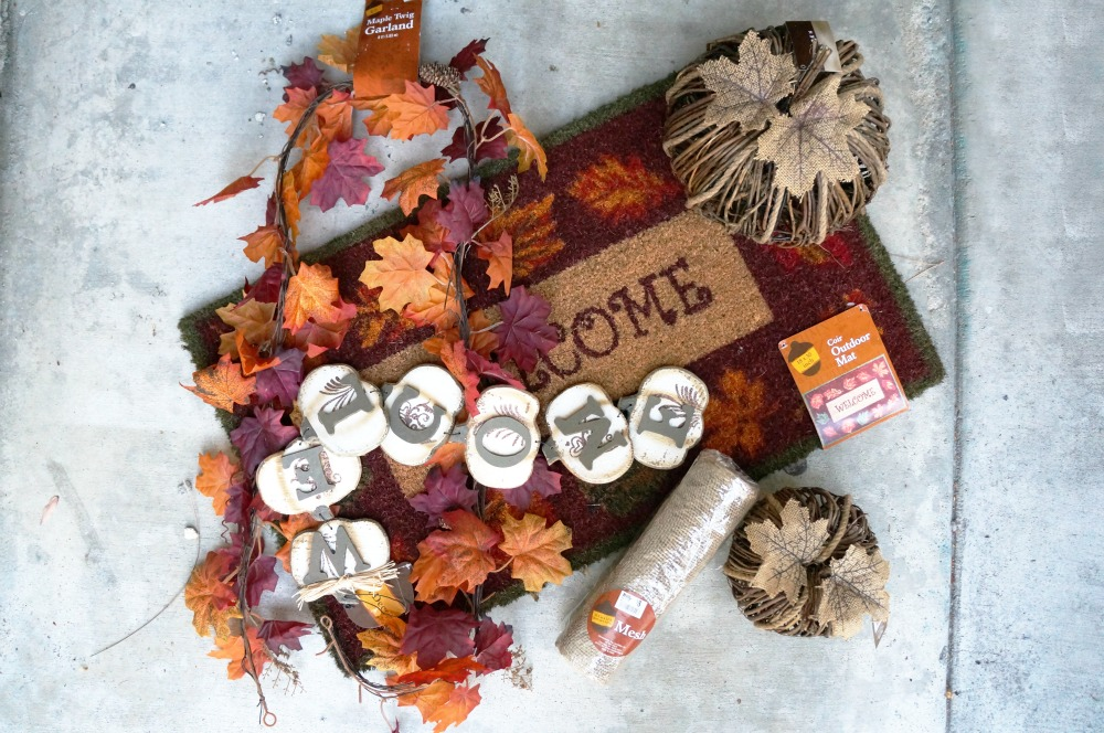 Easy Fall decor updates
