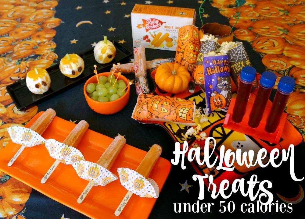 Halloween treats under 50 calories