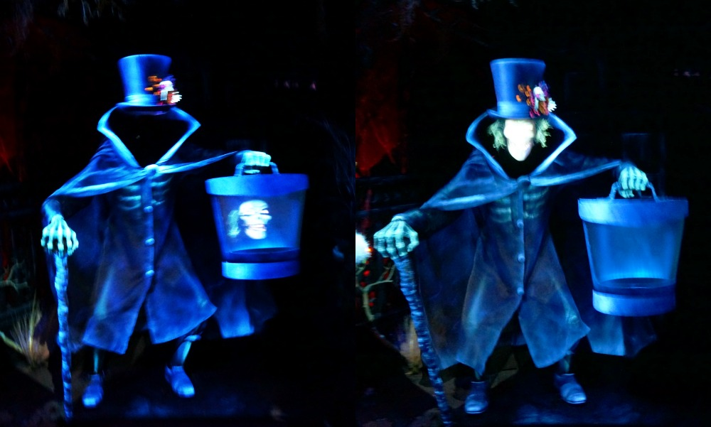 Headless Ghost at Haunted Mansion