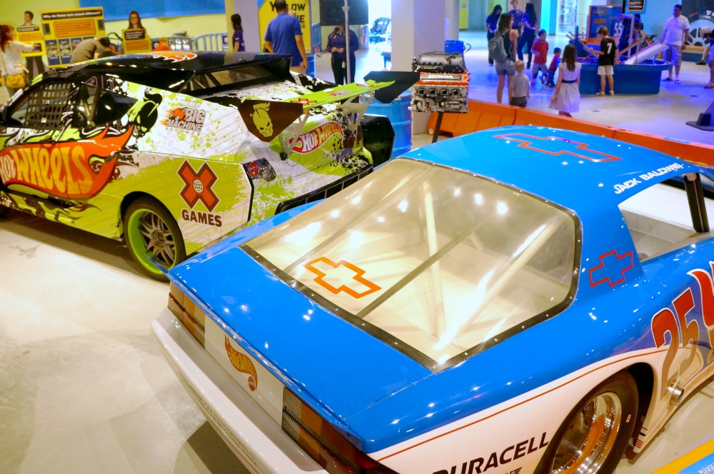 Hot Wheels exhibit at Discovery Cube