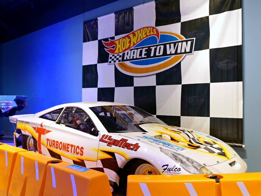 Hot Wheels Race to Win exhibit at Discovery Cube