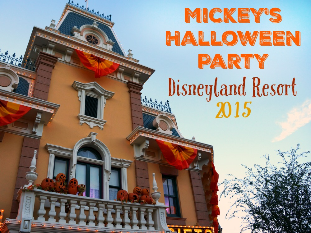 Mickey's Halloween Party 2015 at Disneyland Resort