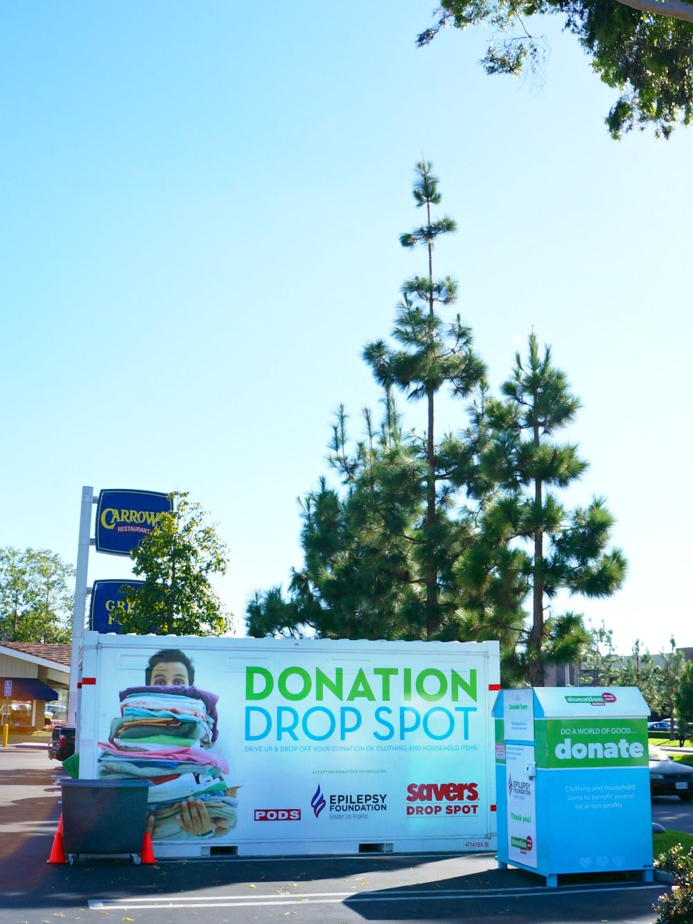 Savers Donation Drop Spots in Orange County