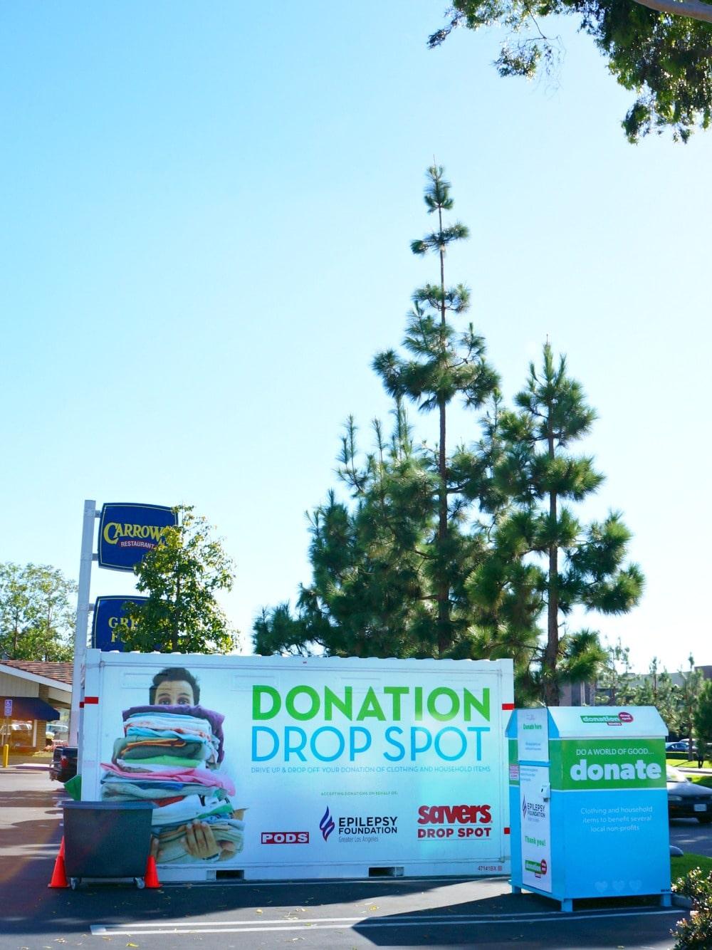 Savers Donation Drop Spots in Orange County