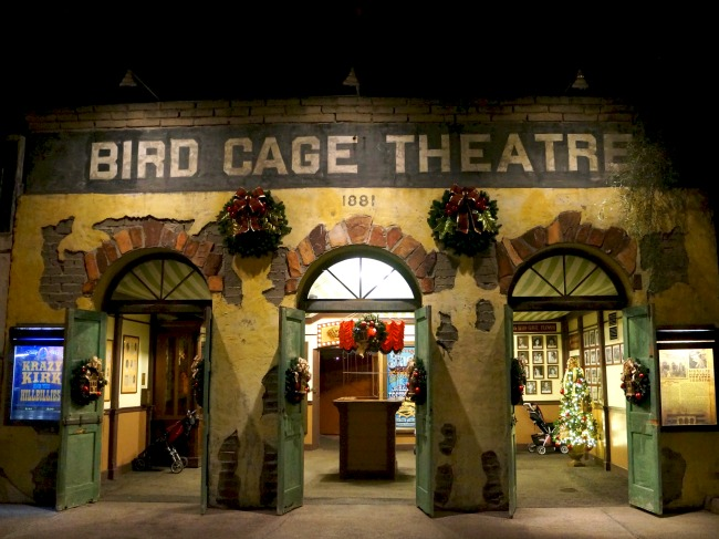 Bird Cage Theatre at Knott's Berry Farm