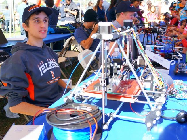 Cal State Fullerton robotics