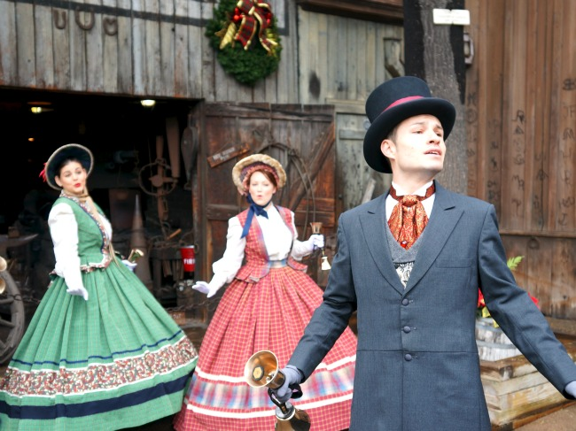 the Calico Carolers