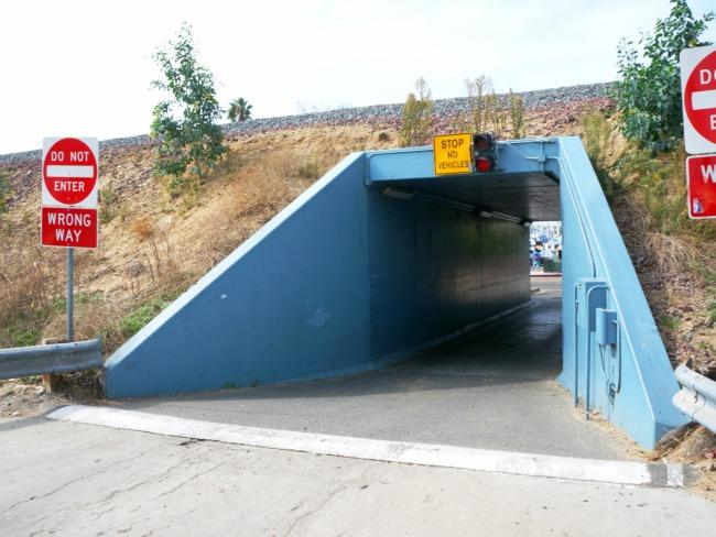 Entrance to Oceanside Harbor
