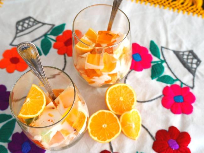 Gelatina mosaica receta